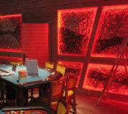 Kasyno - oświetlenie LED