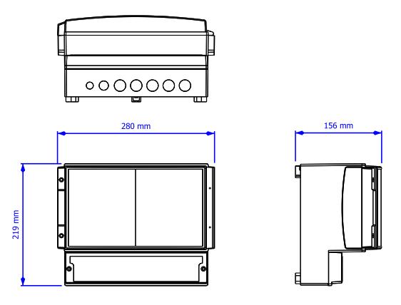 SlideDriver wymiary
